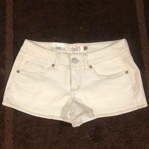 SO Juniors Shortie Jean Shorts Size 7